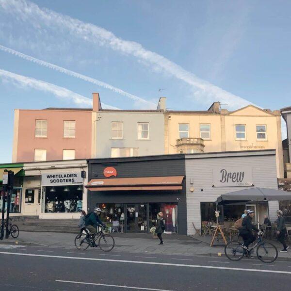 Coffee shop in Bristol