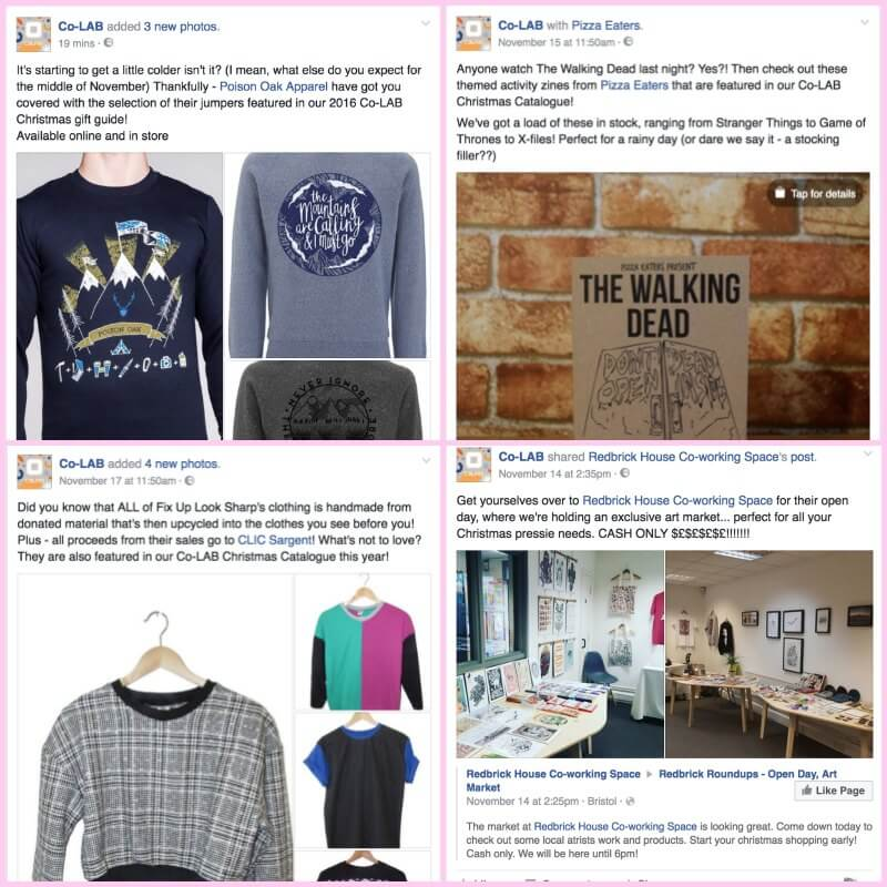 The most recent Facebook posts from Bristol's Co-LAB
