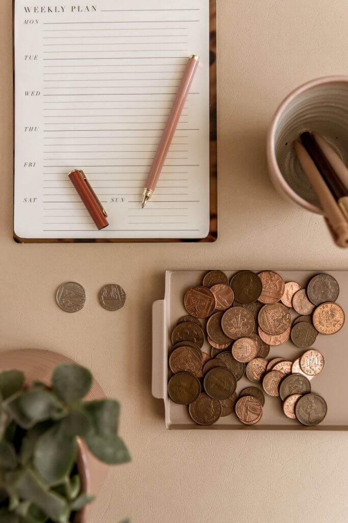 Our pennies in line with organised marketing campaigns